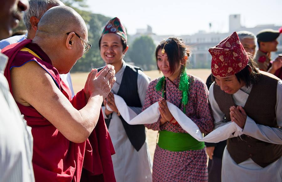 Dalai Lama Nepal