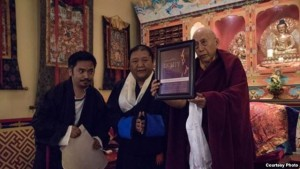 Kalon Trisur Samdhong Rinpoche formally inaugurated the 80 for 80 project in New York.